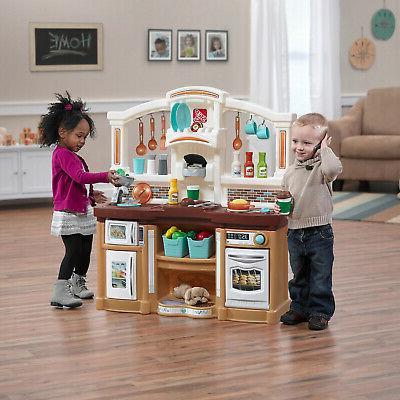 Kitchen Kids Play Pretend Baker Playset Food Accessories