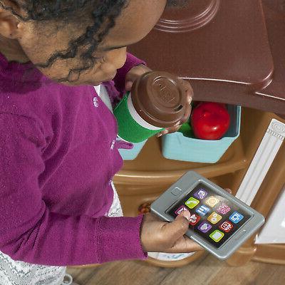 Kitchen Pretend Baker Cooking Playset Accessories