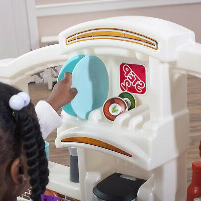 Kitchen Kids Play Set Pretend Baker Playset Girls Food Accessories