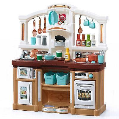 kitchen kids play set pretend baker toy