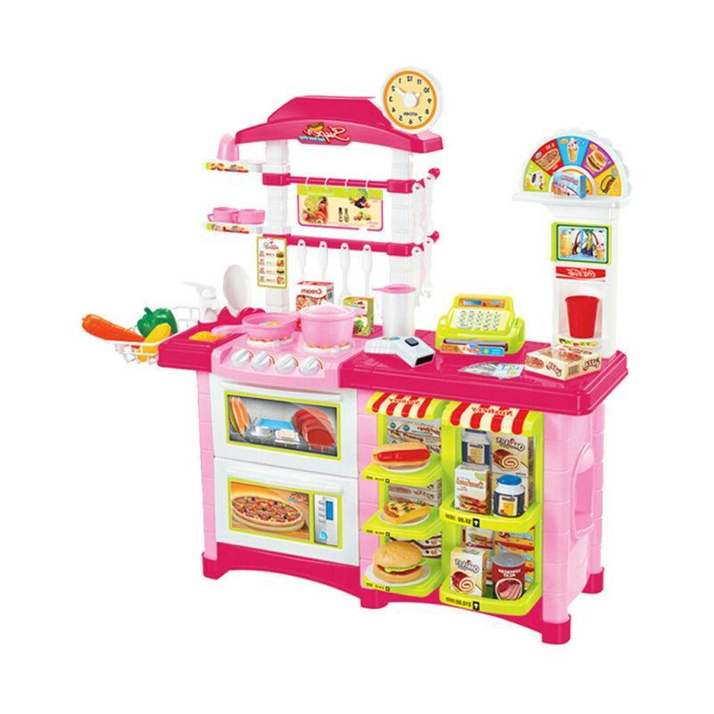 Kitchen Play Baker Kids Playset Food Gift Present
