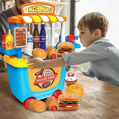 Kids Pretend Set Cooking Toddler Toys Gift Gifts