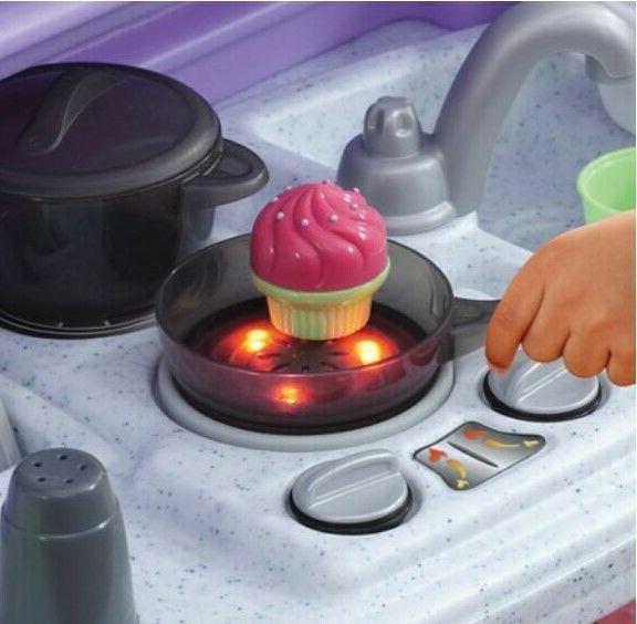 Kitchen Play Baker Kids Toy Playset Gift Present