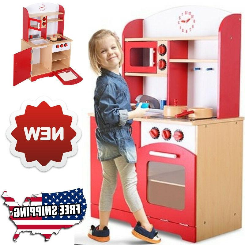 kitchen playset for girls and boys pretend