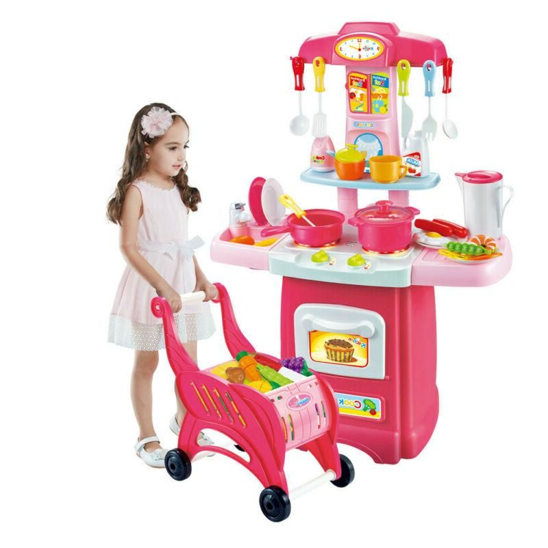 Kitchen Pretend Play Set Light Toddler