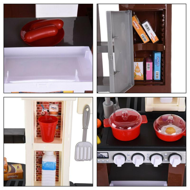 Pretend Cooking Kitchen Cabinet