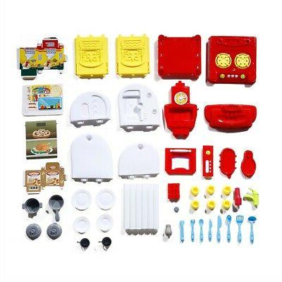 Kids Kitchen Play Set Cooking Gift Gift