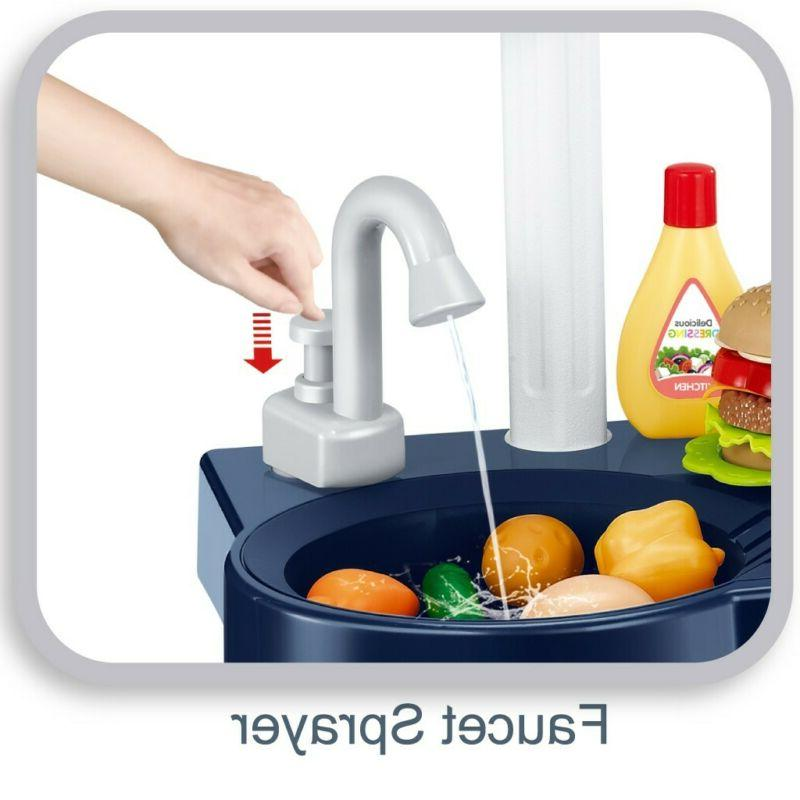 Kids Kitchen for With Touch Screen Toy