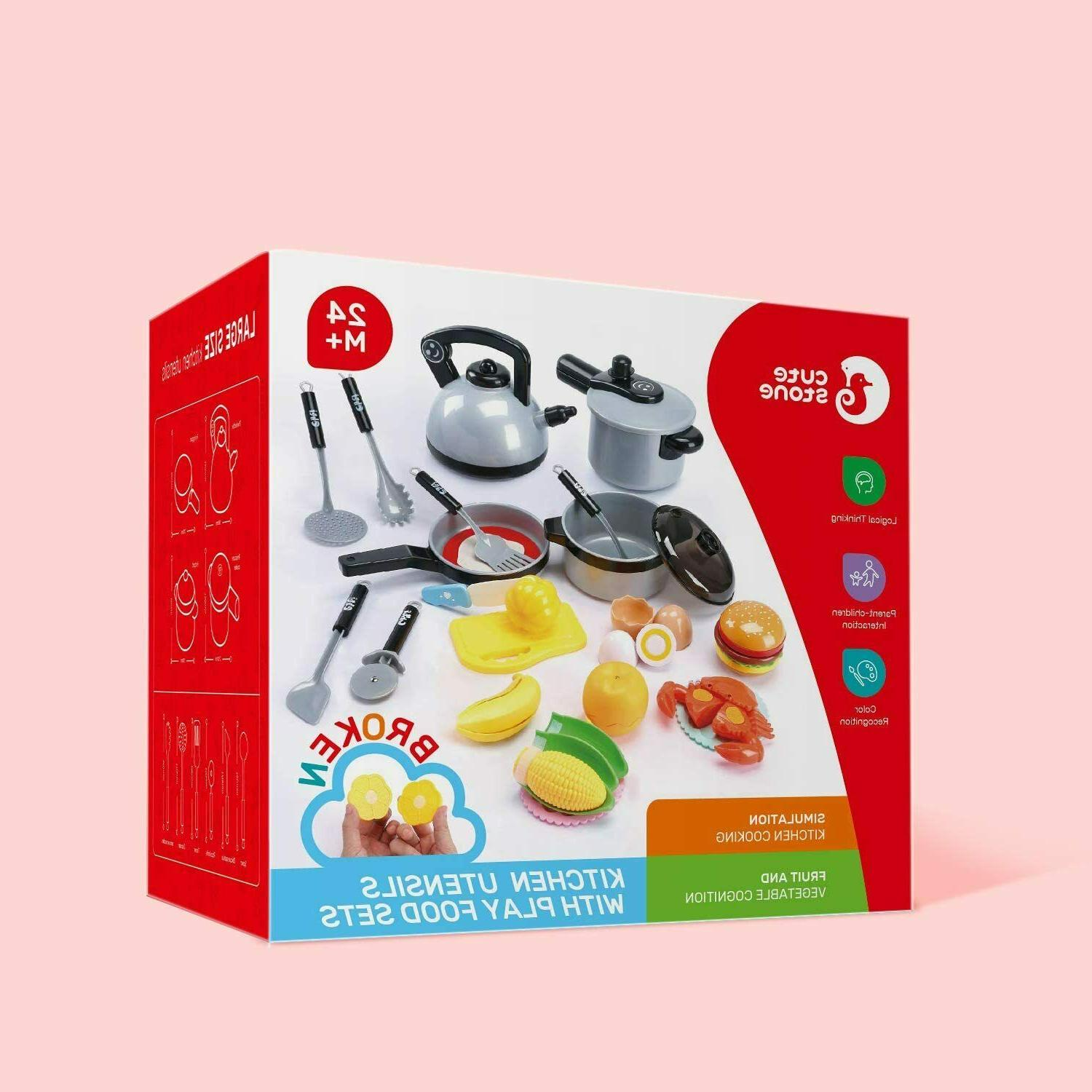 Kitchen Play for Children Cooking Gifts