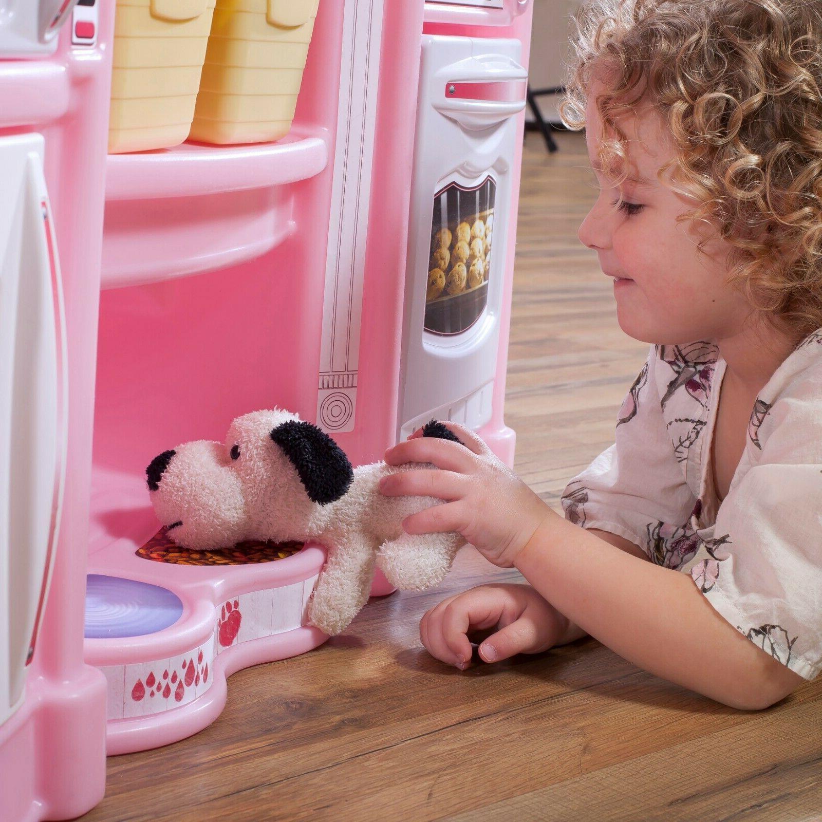 Pretend Toy Kitchen Kids Set Cooking Birthday Gift
