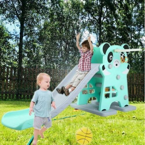 large slide for kids toddler basketball hoop