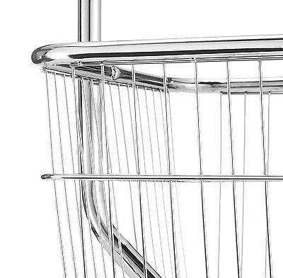 Laundry Butler Storage Basket Rolling Hanger