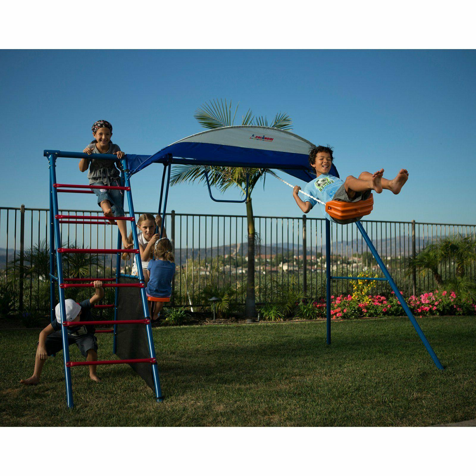 For Kids Ezplay Outdoor Large Swing Set