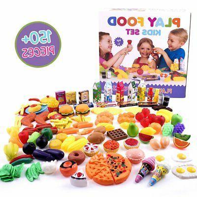 Little Play Food Set - 150 Piece