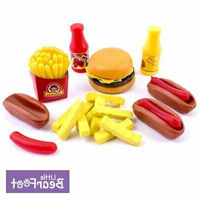 Little Foot Food Kids - Pretend 150 Piece Assortment