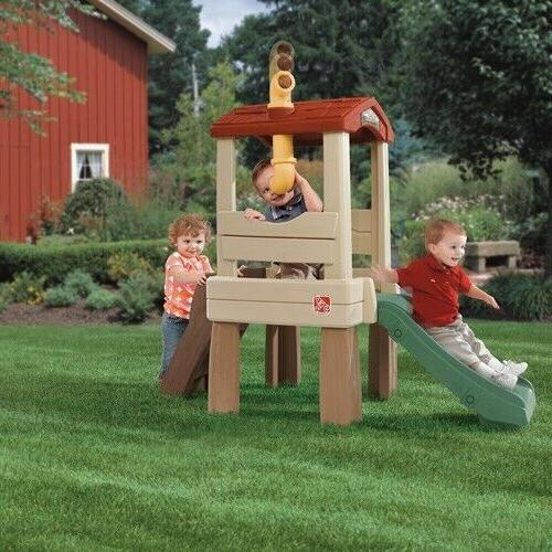 Step2 Treehouse Outdoor Playset Climber Slide Toddlers