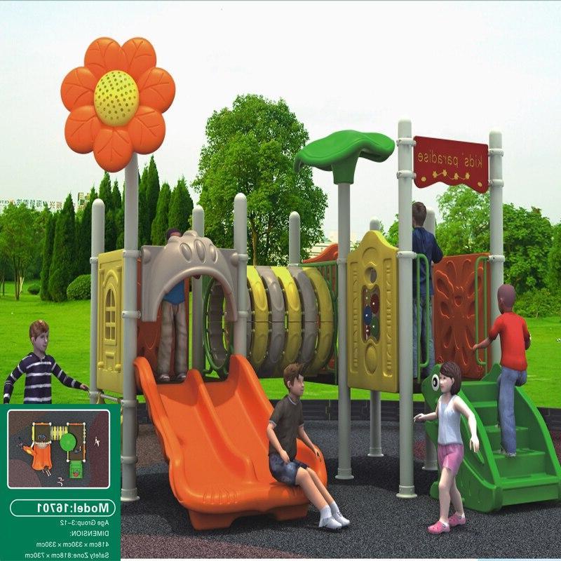 MAGIC FUN Outdoor plastic slide