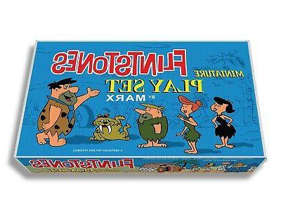 marx flintstones miniature play set box