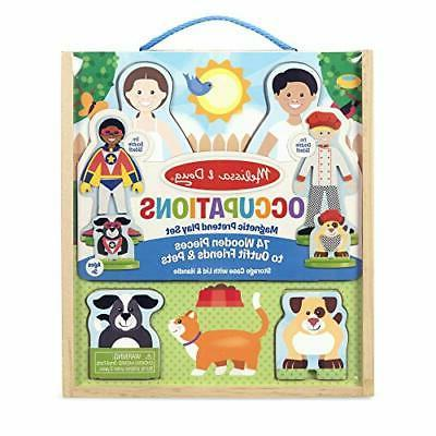 Melissa Magnetic Wooden Pretend Play Set