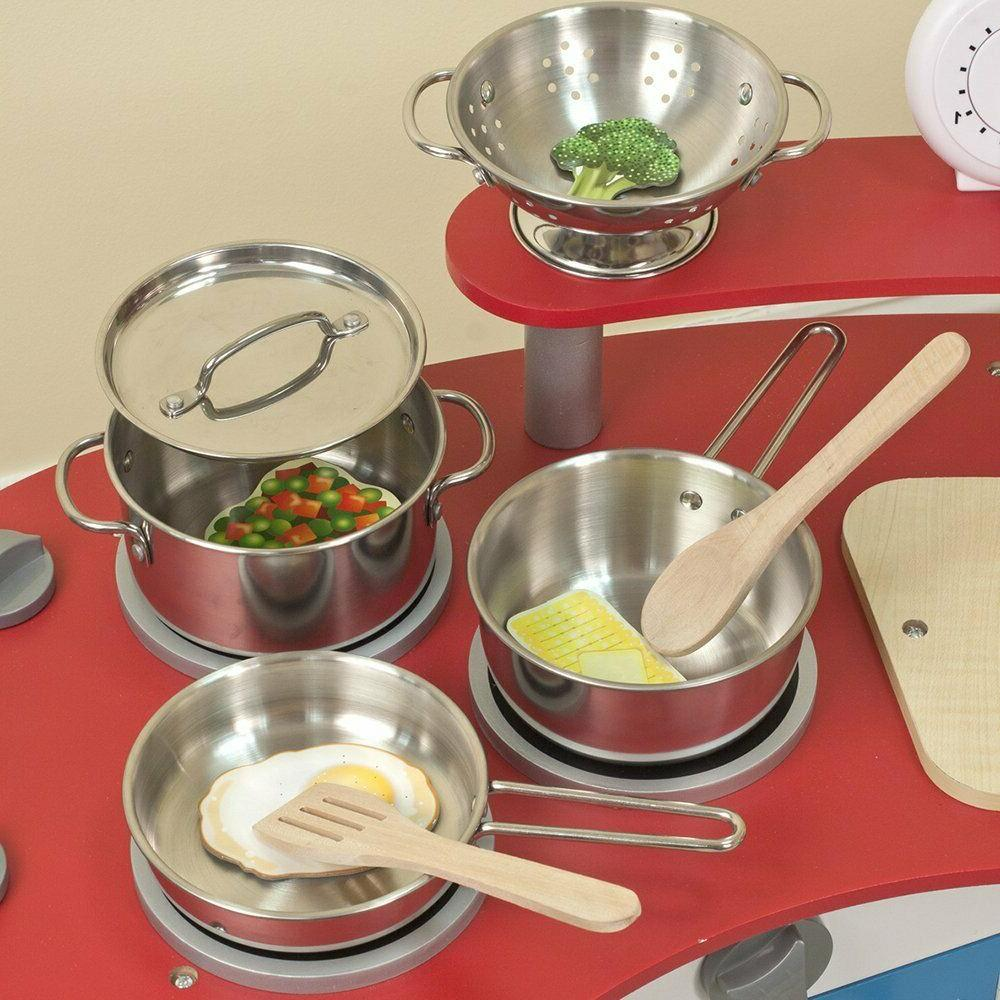 Melissa House Stainless Pots Kids