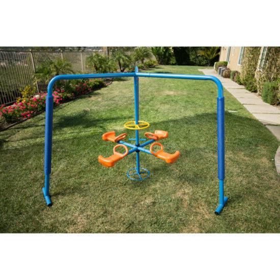 Merry Go Round Outdoor Playset Kids Play Playground Backyard