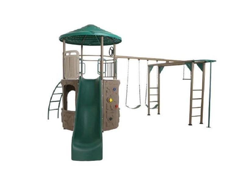 metal swing sets for backyard strong playset