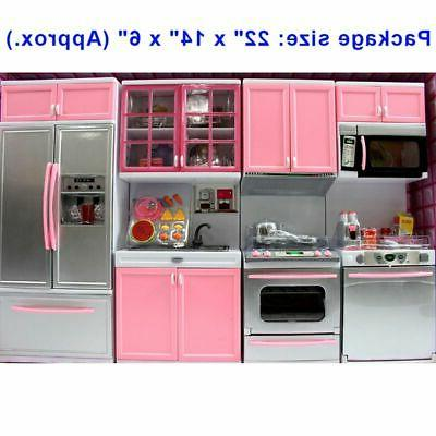 modern battery operated kitchen playset