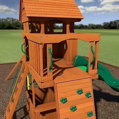 Backyard Discovery Cedar Wood Swing Set