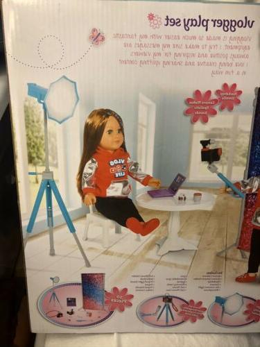 "My Life 18"" doll Vlogger set american girl new"