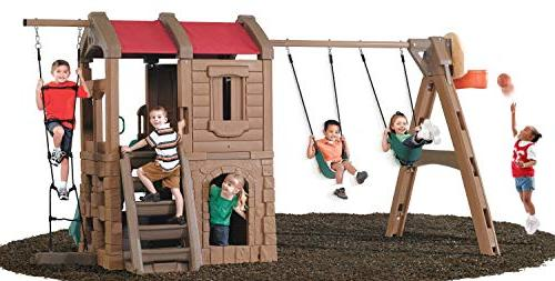Step2 Naturally Lodge Set and Play Center