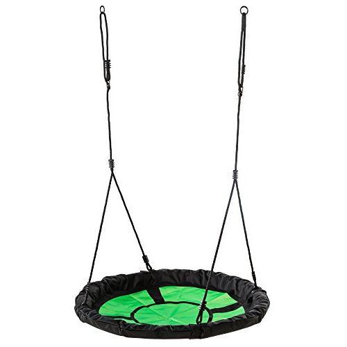 """Swing-N-Slide Swing with 40"""" Green & Black"""