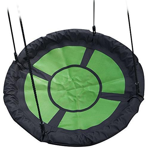 """Swing-N-Slide NE Nest Swing Outdoor 40"""" & Black"""