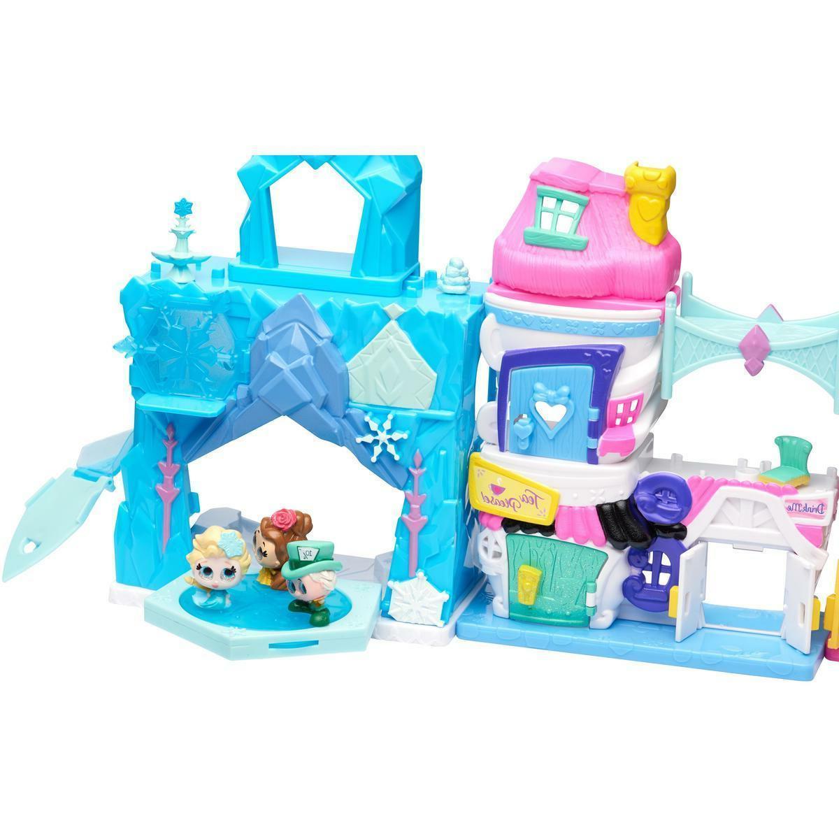 NEW Disney Doorables Stack Build Playset Elsa Belle Birthday Gift
