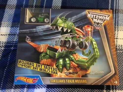 new dragon blast challenge play set monster
