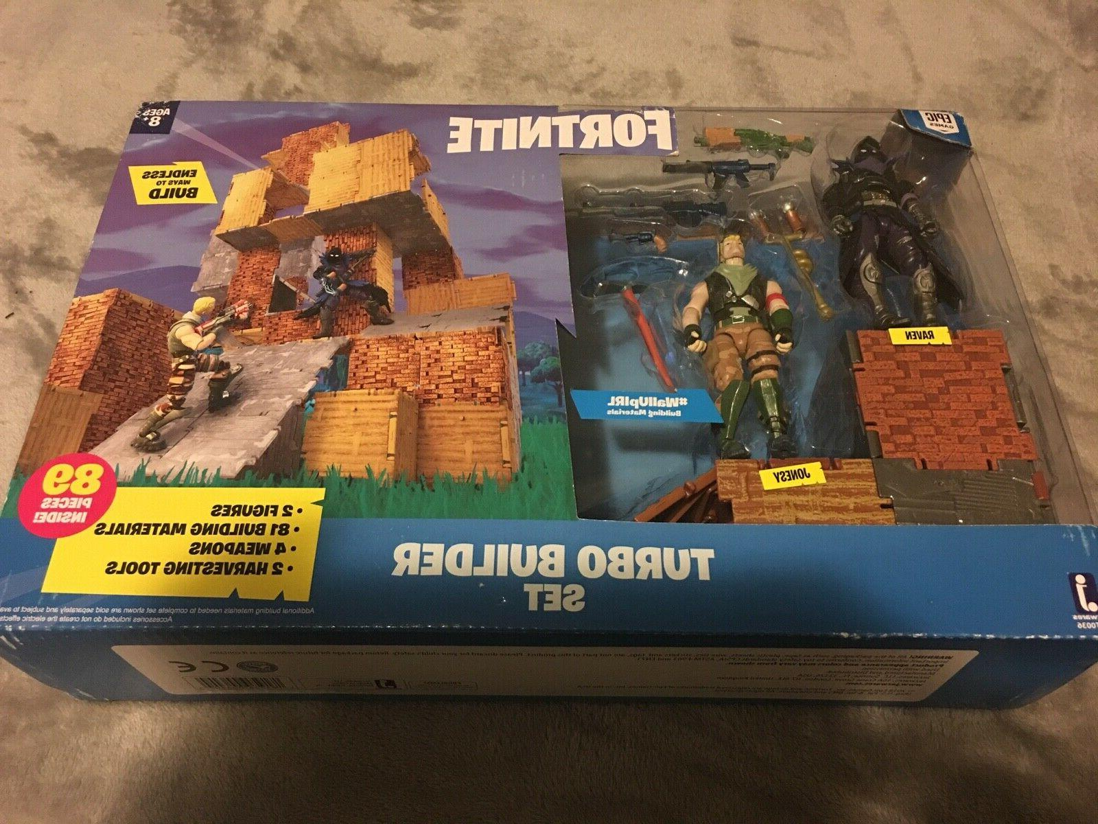 new fortnite turbo builder set 2 figure