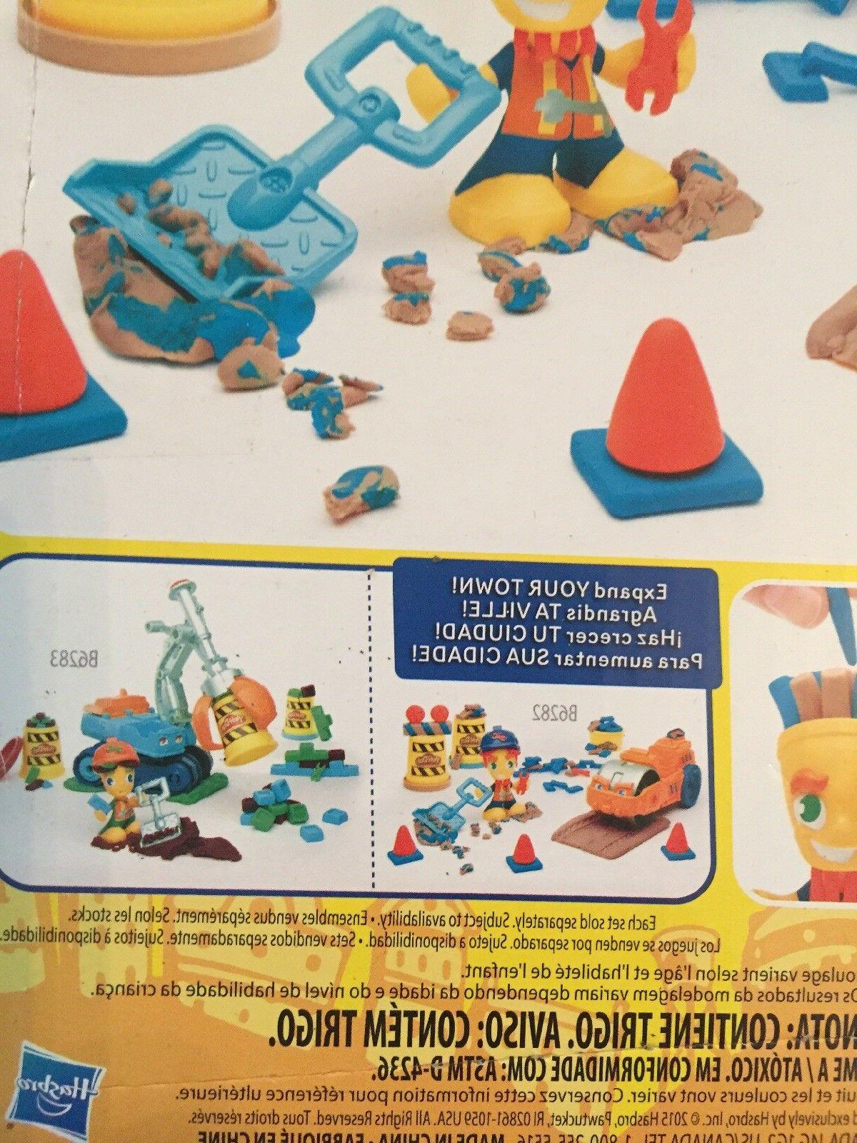 NEW Play-Doh Set Steamroller Person Toys
