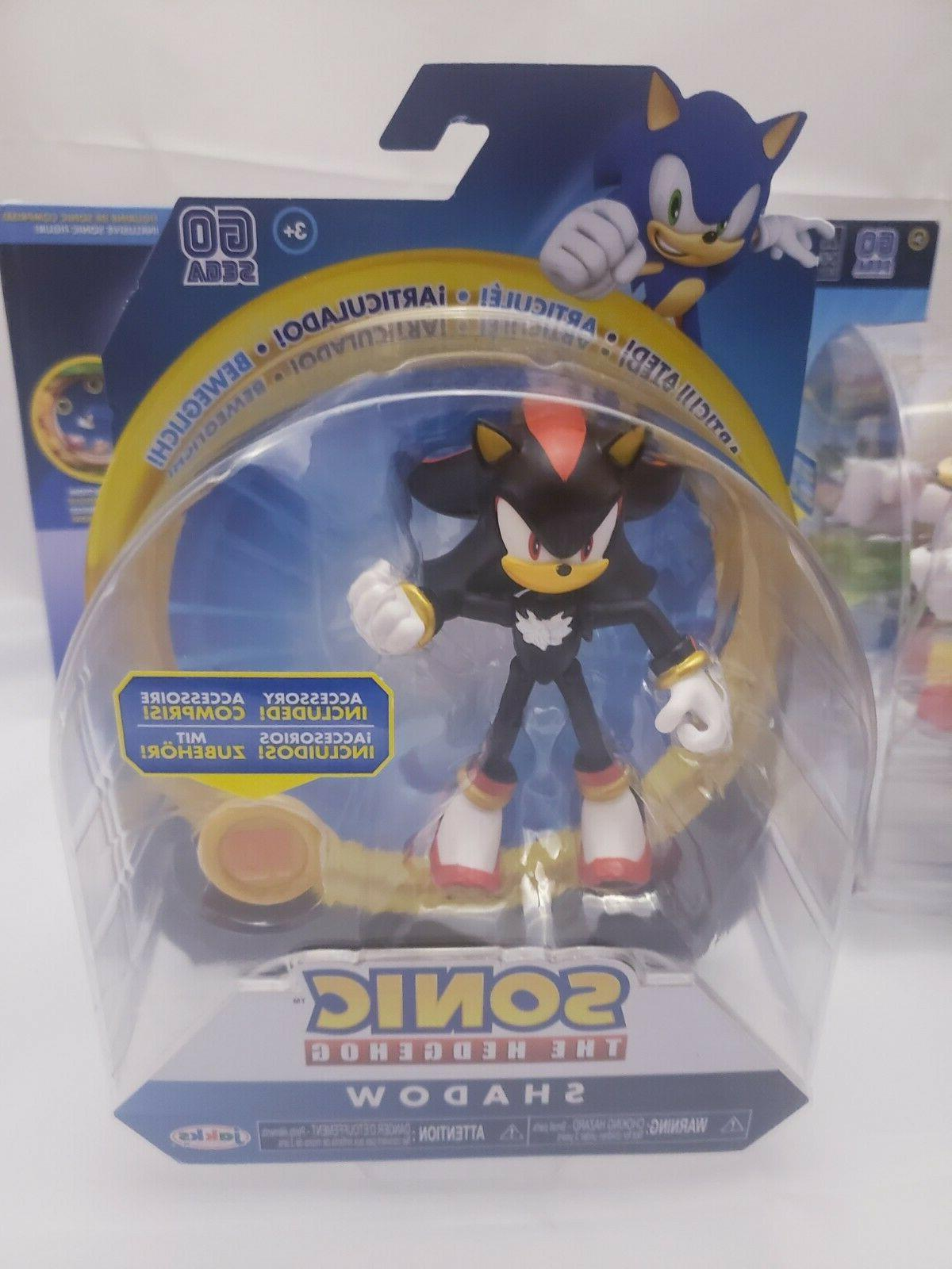 NEW Sonic the Collectables Figures Play Plushies -JAKKs