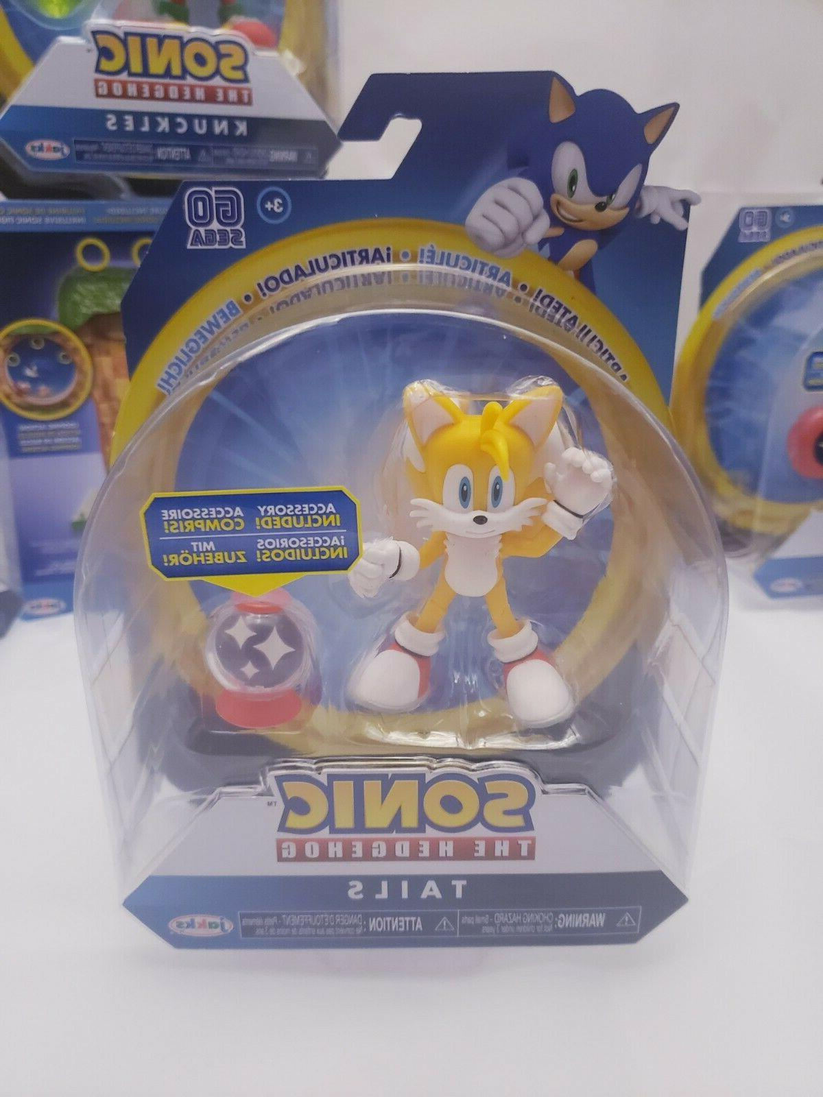 NEW Sonic the Hedgehog Collectables Play Sets - -JAKKs