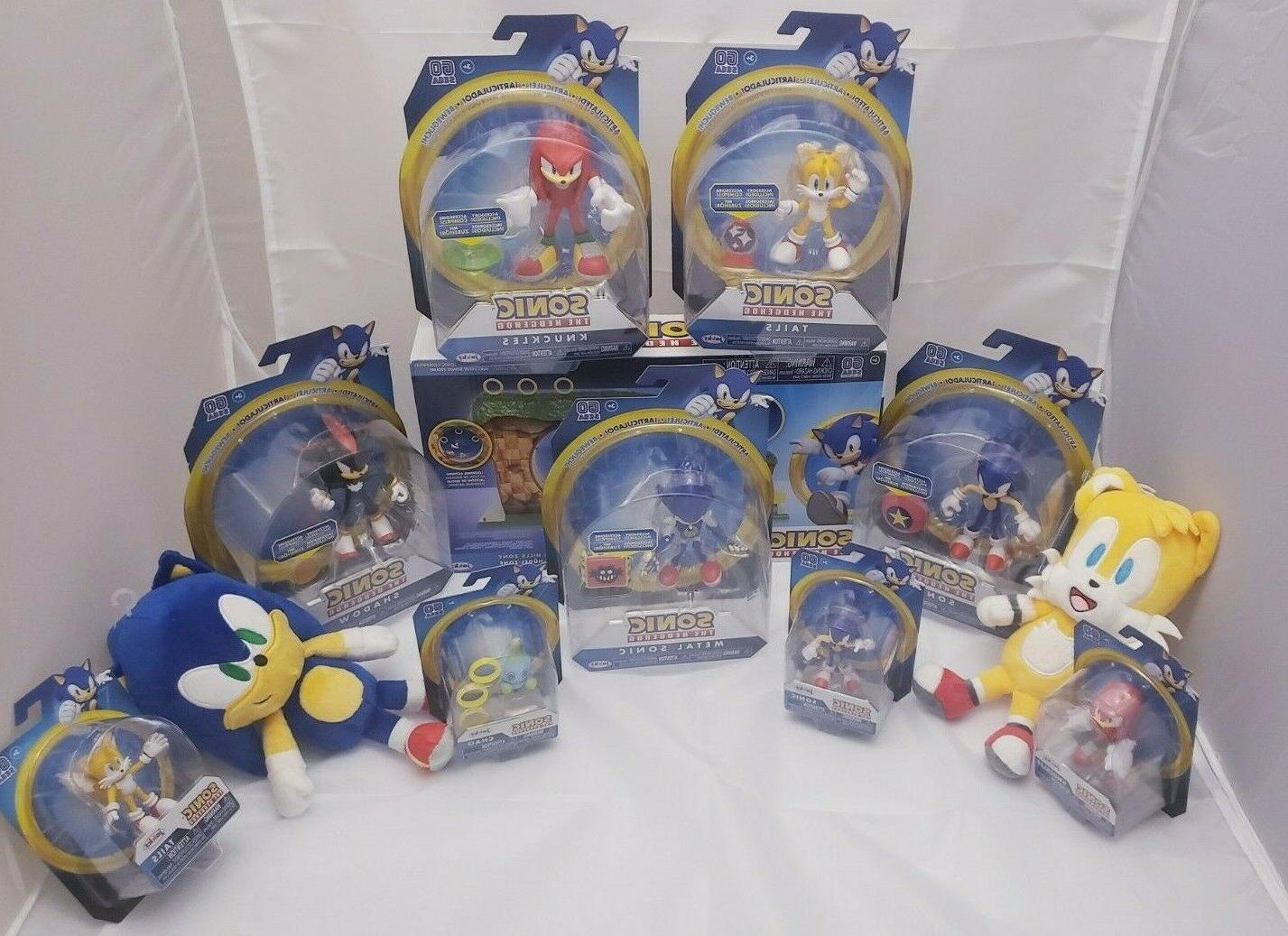 new sonic the hedgehog collectables action figures