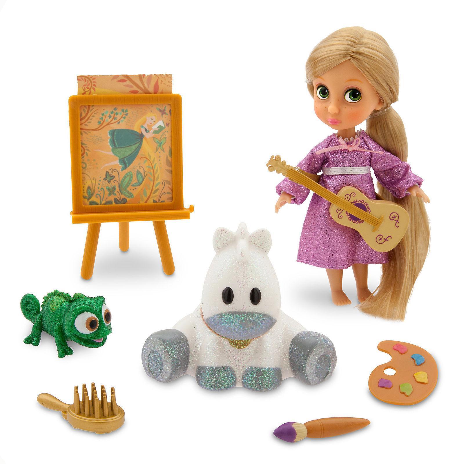 new store animators collection rapunzel mini doll