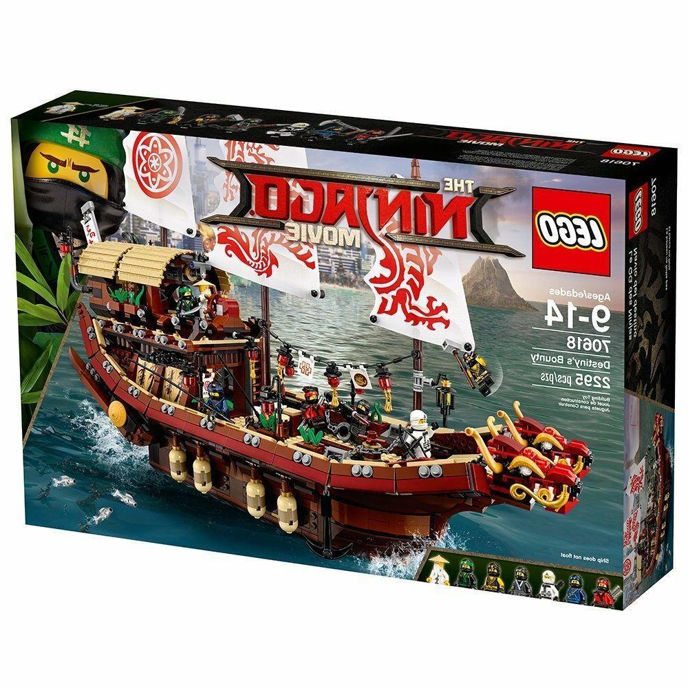 LEGO Ninjago Movie Destiny's Bounty 2295 Piece Set