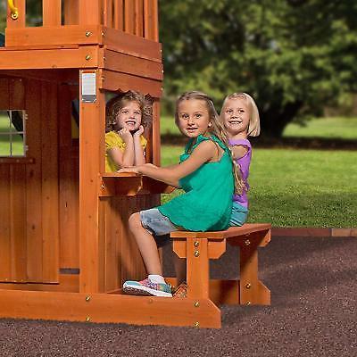 Backyard Discovery All Cedar Wood Playset Set