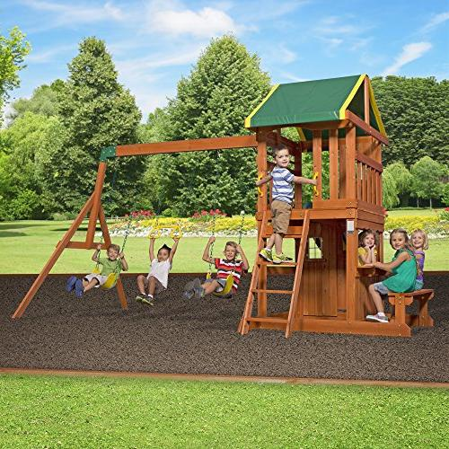 Backyard Oakmont Wooden Set