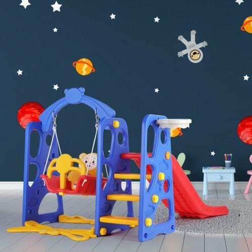 Set Climber Playset Playground Swing Boy Gift