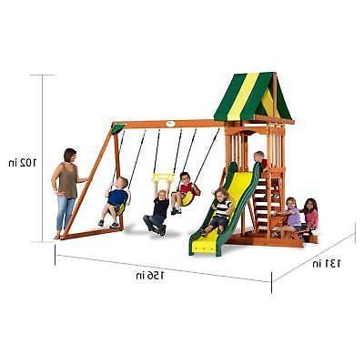 Backyard Discovery Playground Slide