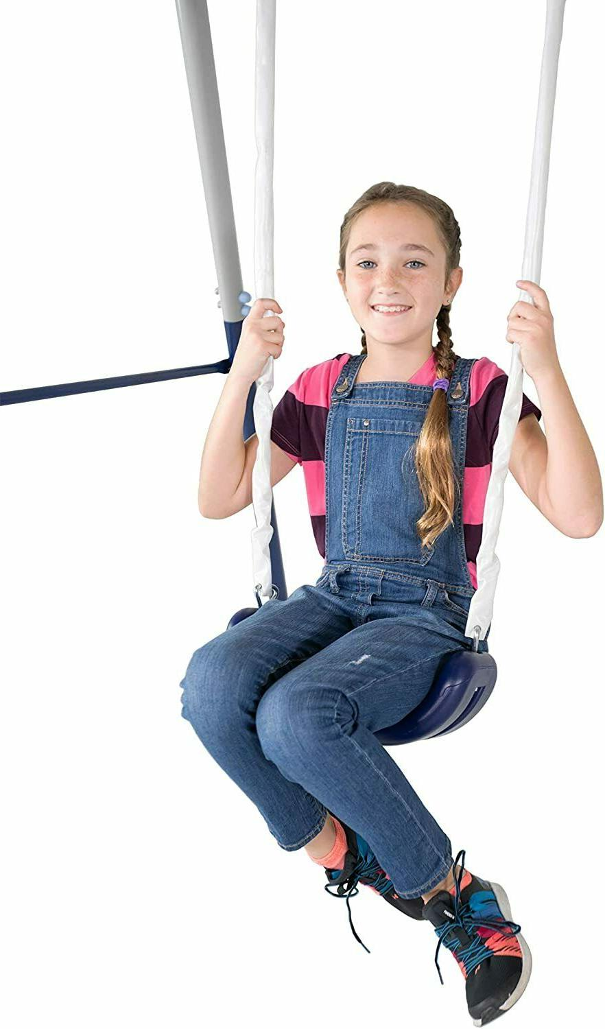 Outdoor Swing With Kids
