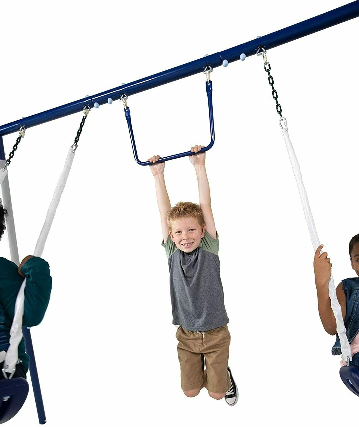 Outdoor set Swing With Kids