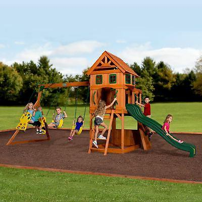 Backyard Kids Swing Playset