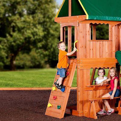 Swing Set Kids Playset
