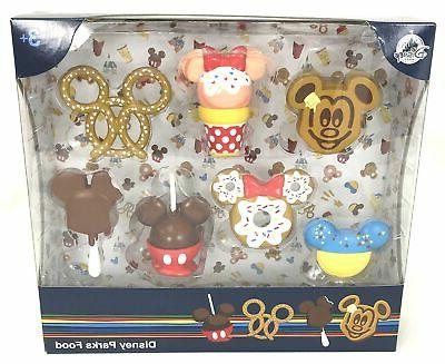 parks food figurine play set cake toppers